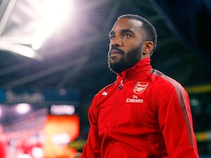 Lacazette in a