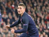 Paris Saint-Germain's Marco Verratti in action during the Champions League match against Arsenal on November 23, 2016