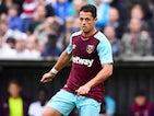Javier Hernandez in action for West Ham United on August 1, 2017