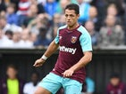 Javier Hernandez in action for West Ham United on August 1, 2017