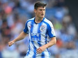 Joe Lolley in action for Huddersfield Town in July 2017