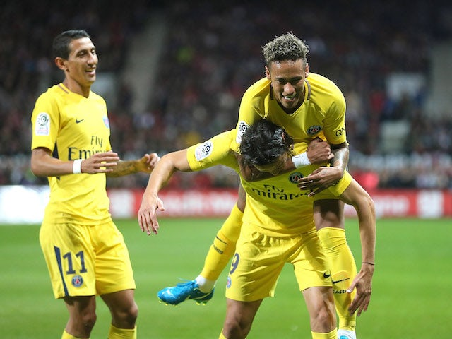 George Weah's son makes debut at French club PSG