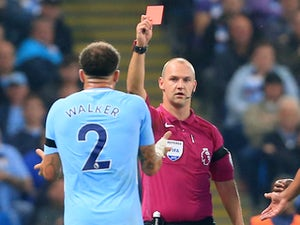 Kyle Walker apologises for sending-off