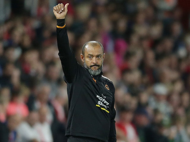 """Wolves boss Nuno """"very proud"""" of players"""