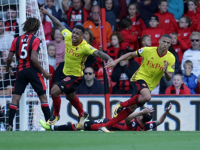 Result: Richarlison, Capoue give Watford victory