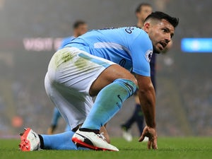 Sergio Aguero denies 'striking steward'