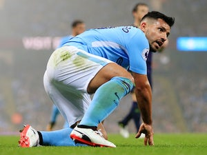 Sergio Aguero coy on Man City return