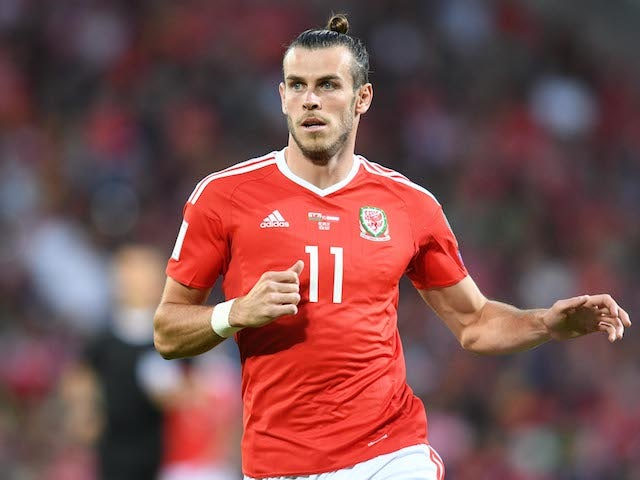 Gareth Bale in action during the World Cup qualifier between Wales and Austria on September 2, 2017