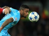 Jurgen Locadia in action for PSV Eindhoven in December 2015