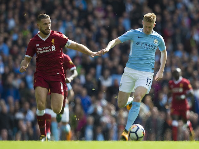 Pep Guardiola relishing Liverpool challenge at Anfield