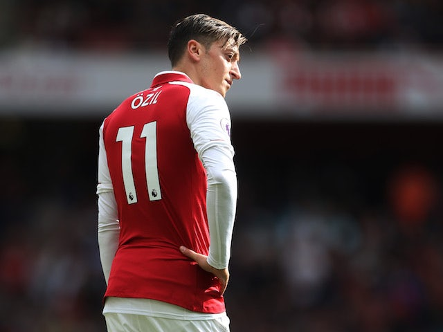Team News: Ozil not in Arsenal squad to face WBA