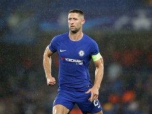 Team News: Cahill on Chelsea bench