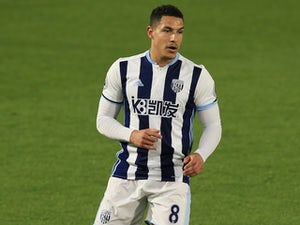 West Bromwich Albion midfielder Jake Livermore in action