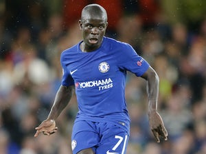 Kante limps off with hamstring injury