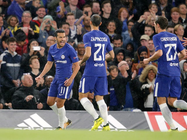 Result: Chelsea hit Qarabag for six in CL opener