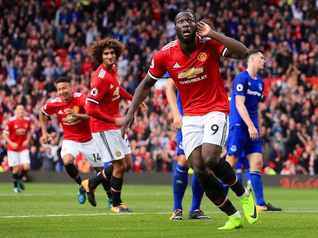 Result: Lukaku scores as Man Utd thrash Everton