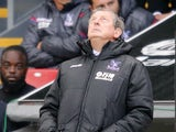 Roy Hodgson is having a mare during the Premier League game between Crystal Palace and Southampton on September 16, 2017
