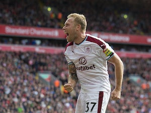 Team News: Arfield, Marney miss out for Burnley
