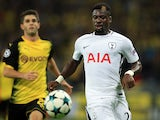 Tottenham Hotspur full-back Serge Aurier in action during his side's Champions League clash with Borussia Dortmund on September 13, 2017