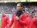 Virgil van Dijk is loving life after the Premier League game between Crystal Palace and Southampton on September 16, 2017