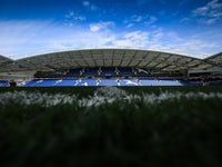A general view of the Amex Stadium prior to the Premier League game between Brighton & Hove Albion and Newcastle United on September 24, 2017