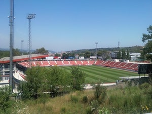 General view of Estadi Montilivi, home of Girona FC