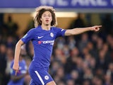 Ethan Ampadu in action during the EFL Cup game between Chelsea and Nottingham Forest on September 20, 2017
