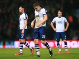 A more recent image of Preston North End's Jordan Hugill in action during his side's FA Cup third round clash with Arsenal on January 7, 2017