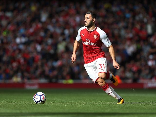 Team News: Kolasinac starts for Arsenal