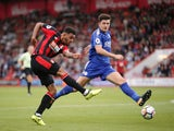 Bournemouth striker Josh King in action during his side's Premier League clash with Leicester City at the Vitality Stadium on September 30, 2017