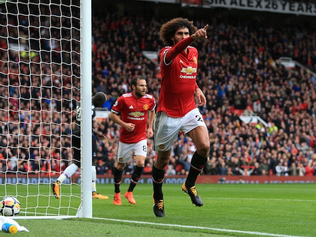 Mourinho praises Fellaini for toughing it out