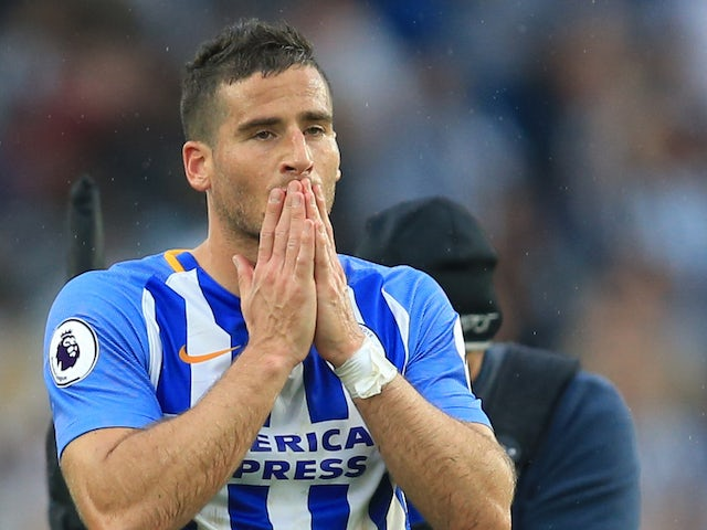 Brighton striker Hemed handed three-match ban for violent conduct