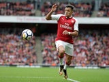 Arsenal attacker Alexis Sanchez in action during his side's Premier League clash with Brighton & Hove Albion at the Emirates Stadium on October 1, 2017
