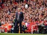 Arsenal manager Arsene Wenger on the sidelines during his side's Premier League clash with Brighton & Hove Albion at the Emirates Stadium on October 1, 2017