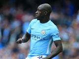 Manchester City full-back Benjamin Mendy in action during his side's Premier League clash with Liverpool on September 9, 2017