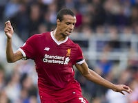 Liverpool defender Joel Matip in action during his side's Premier League clash with Newcastle United at St James' Park on October 1, 2017
