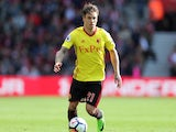 Watford defender Kiko Femenia in action during his side's Premier League clash with Southampton on September 9, 2017