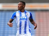 Rajiv van la Parra in action for Huddersfield Town during pre-season in 2017
