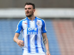 Scott Malone in action for Huddersfield Town during pre-season in 2017