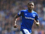Cuco Martina in action for Everton during a 2017-18 Premier League match