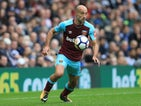 Pablo Zabaleta in action for West Ham United in a 2017-18 Premier League match