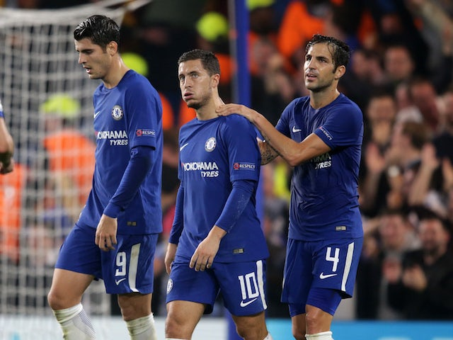 Willian backs Hazard, Morata to