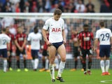 Jan Vertonghen in action during the Premier League game between Tottenham Hotspur and Bournemouth on October 14, 2017