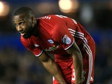 Junior Hoilett in action during the Championship game between Birmingham City and Cardiff City on October 13, 2017