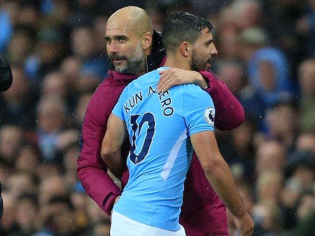 Team News: Aguero on City bench
