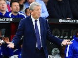 Roy Hodgson plays it cool during the Premier League game between Crystal Palace and Chelsea on October 14, 2017