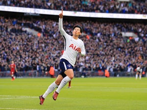 Result: Son brace fires Spurs up to third