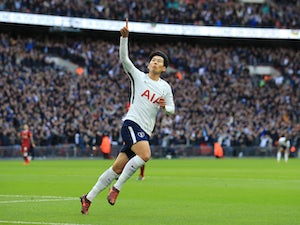 Son brace fires Spurs up to third