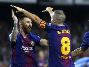 Lionel Messi wins it late for Barcelona