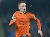 Connor Ronan in action for Wolverhampton Wanderers on October 24, 2017